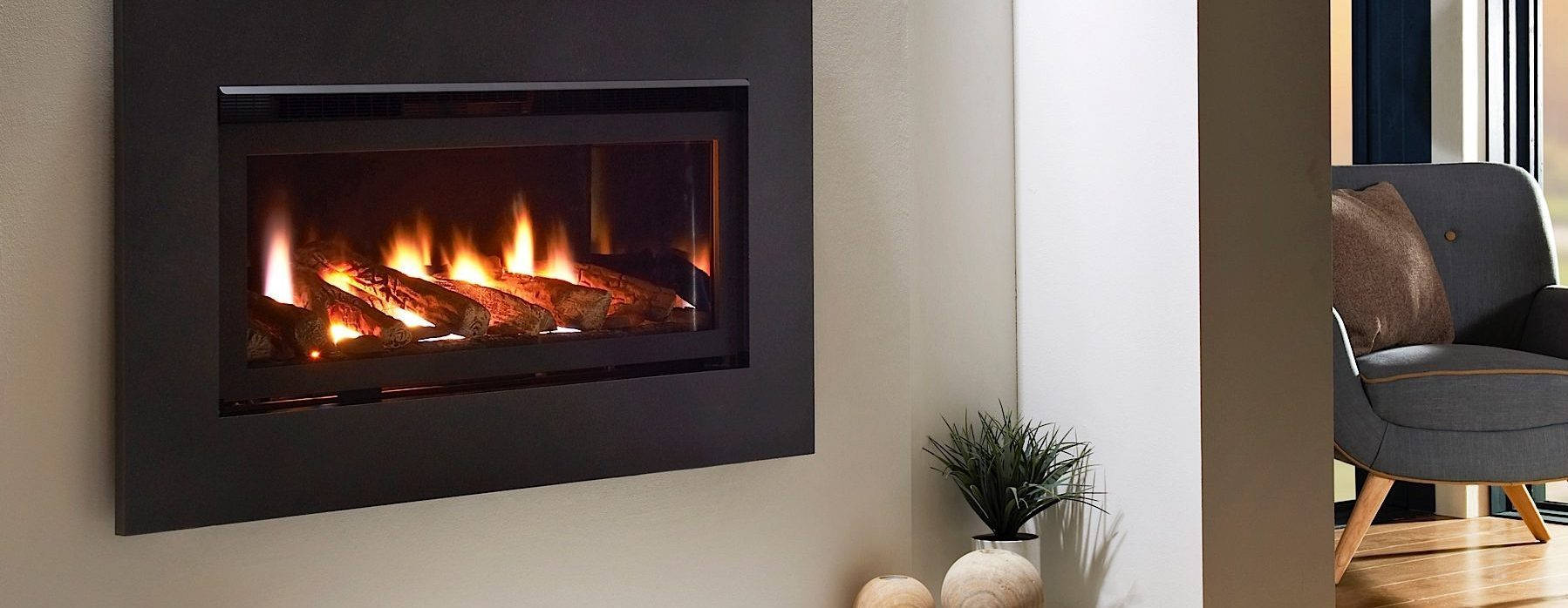 ceramic fibre products for gas fires